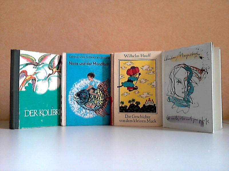 Der Kolibri - Nicos und der Mondfisch - Die Geschichte von dem kleinen Muck - Ob auch der und jener pfeife 4 Bücher