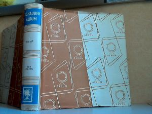 Schaubek Briefmarkenalbum Deutsche Demokratische Republik 1970 bis 1974 - OHNE MARKEN