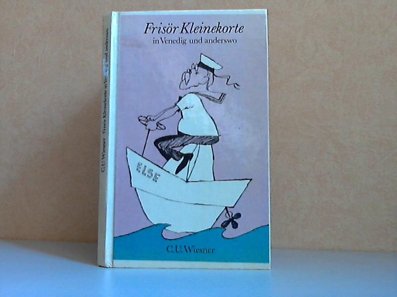 Frisör Kleinekorte in Venedig und anderswo Illustrationen von Karl Schrader.