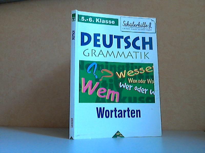 Deutsch Grammatik, Wortarten 5./ 6. Klasse - Schülerhilfe