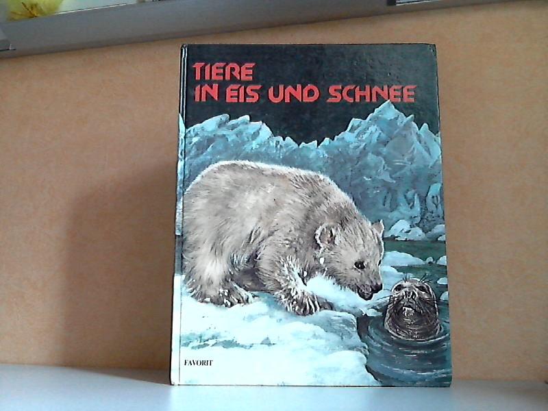 Tiere in Eis und Schnee Illustrationen von Bertello