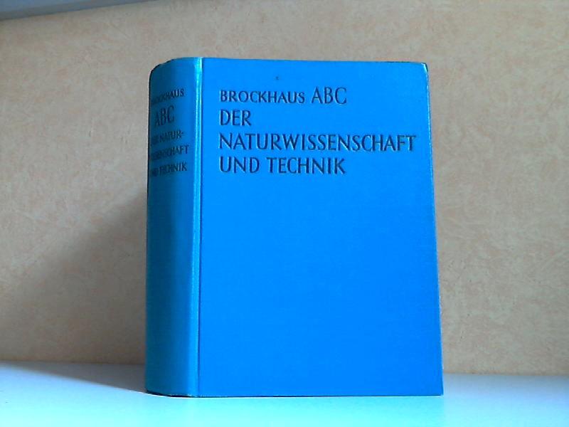 Brockhaus ABC der Naturwissenschaft und Technik - Mathematik, Physik, Chemie, Technik, Astronomie, Geologie, Minaralogie, Meteorologie, Weltraumfahrt