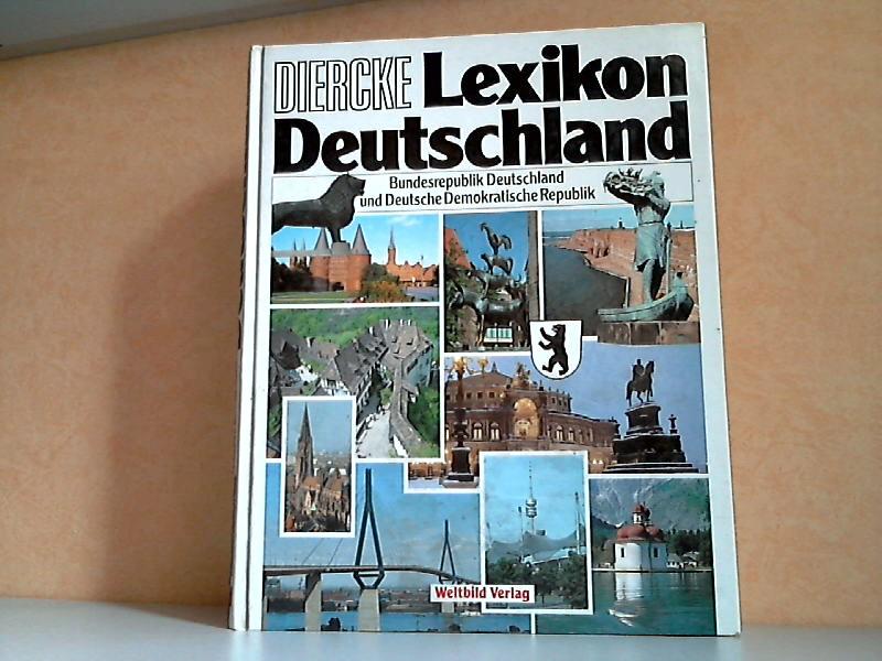 Diercke Lexikon Deutschland - Bundesrepublik Deutschland und Deutsche Demokratische Republik