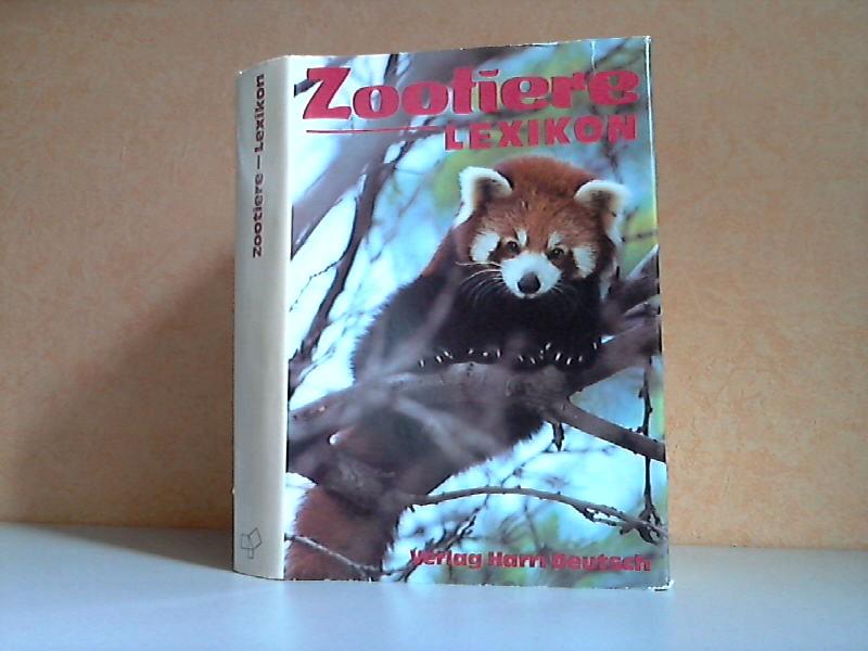 Zootiere Lexikon 143 Zeichnungen, 48 Farbtafeln mit 193 Fotos