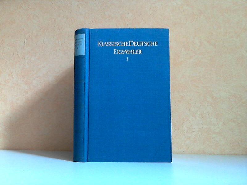 Klassische Deutsche Erzähler Band 1
