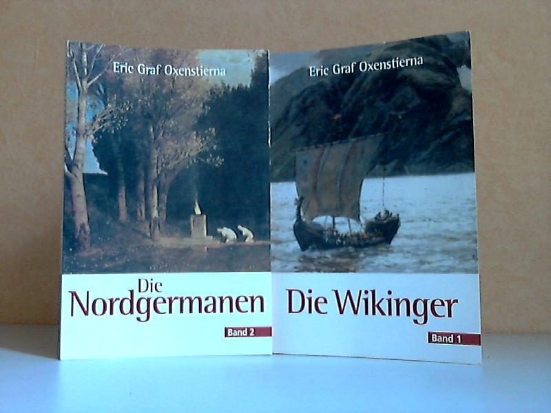 Die Wikinger Band I, Die Nordgermanen Band II 2 Bücher