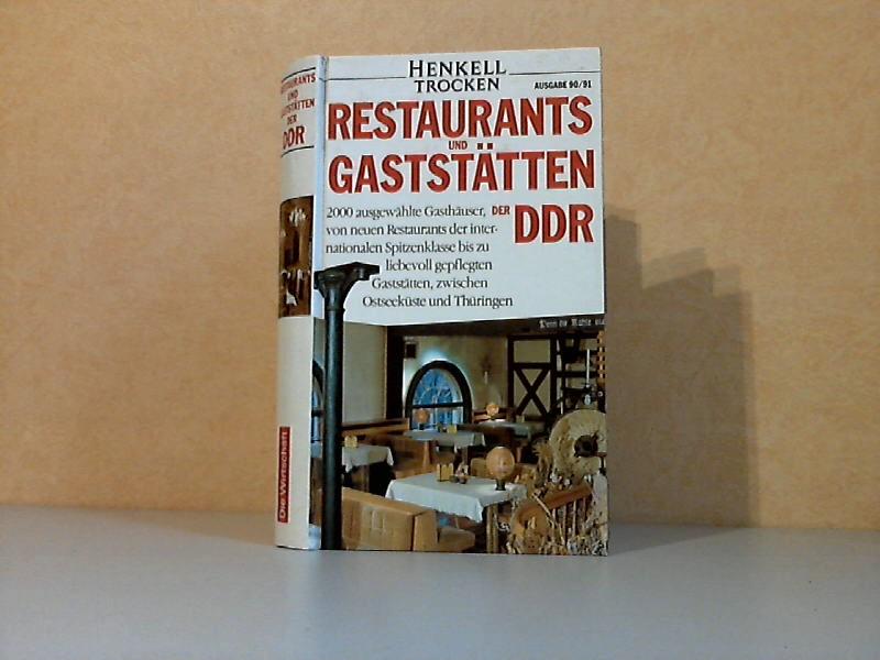 Restaurants und Gaststätten der DDR