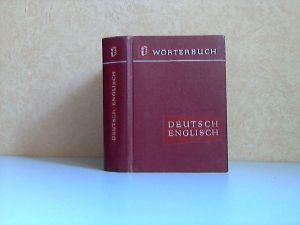 Deutsch-Englisches Wörterbuch