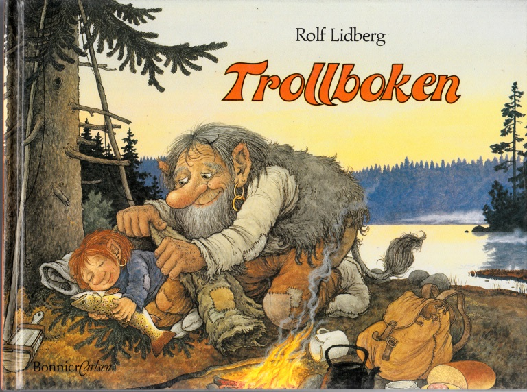 Trollboken Illustrationer Rolf Lidberg
