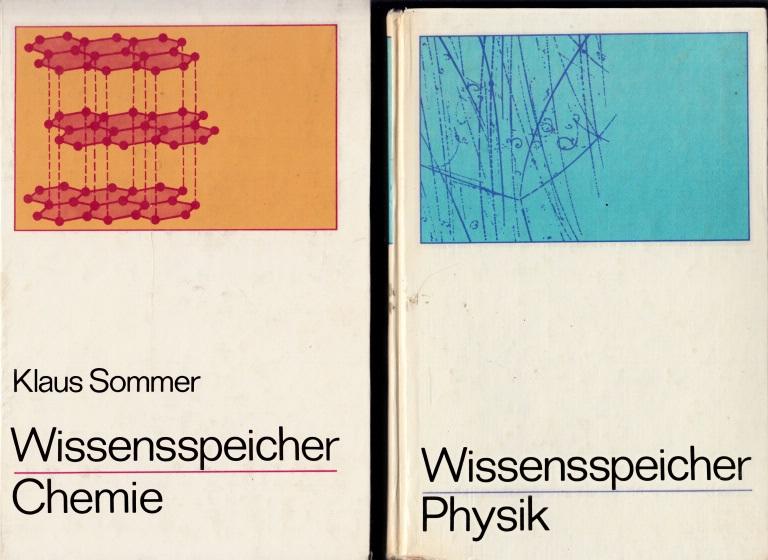 Wissensspeicher Physik + Wissensspeicher Chemie - Das Wichtigste bis zum Abitur in Stichworten und Übersichten 2 Bücher