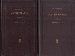 Mathematik Band 1: Arithmetik + Band 2: Geometrie 2 Bücher