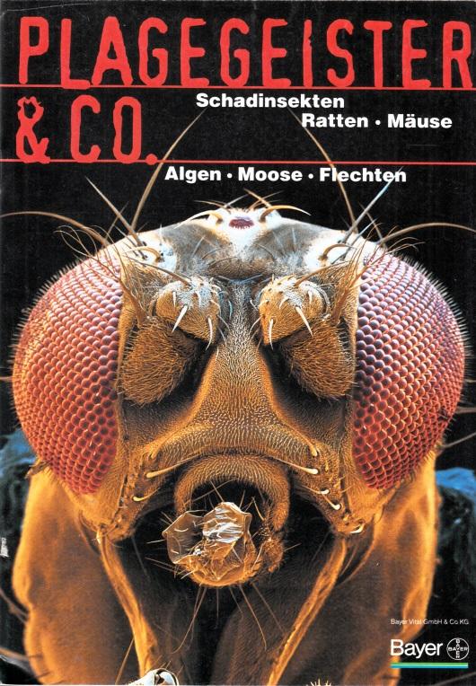 Plagegeister und Co. - Schadinsekten, Ratten, Mäuse - Algen, Moose, Flechten