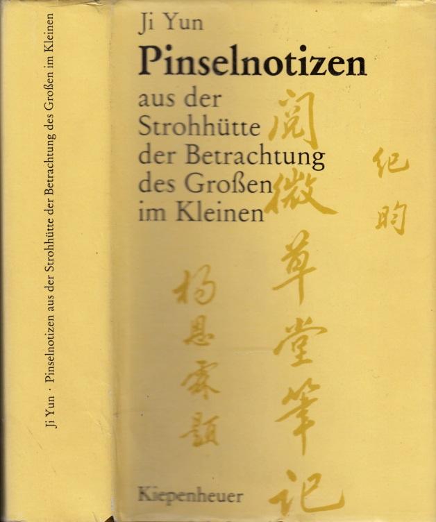 Pinselnotizen aus der Strohhütte der Betrachtung des Großen im Kleinen - Kurzgeschichten und Anekdoten
