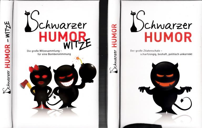 Schwarzer Humor + Schwarzer Humor, Witze 2 Bücher