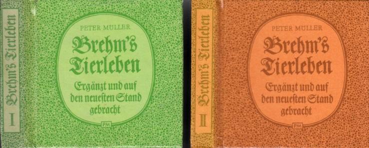 Brehm´s Tierleben Band 1 und 2 - Ergänzt und auf den neuesten Stand gebracht Minibücher
