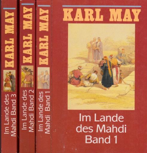 Karl May in 74 Bänden: Im Lande des Mahdi Band 1 bis 3 3 Bücher