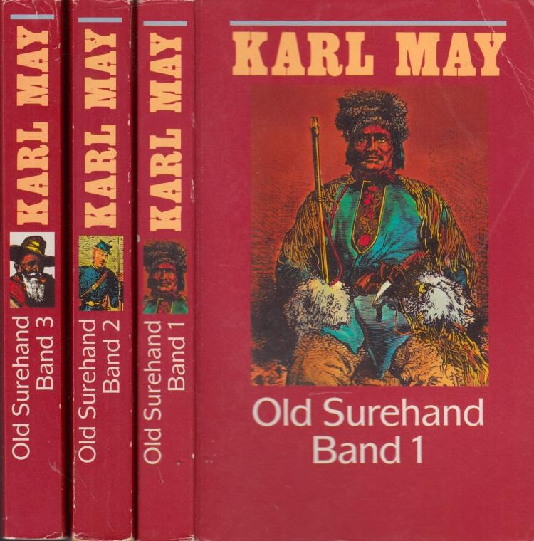 Karl May in 74 Bänden: Old Surehand Band 1 bis 3 3 Bücher