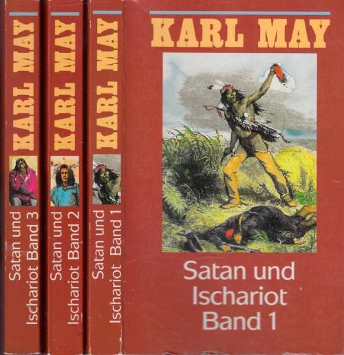 Karl May in 74 Bänden: Satan und Ischariot Band 1 bis 3 3 Bücher