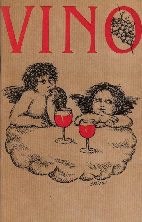 Vino - Zeichnungen und Plaudereien über den Wein Illustrationen: Jiri Sliva