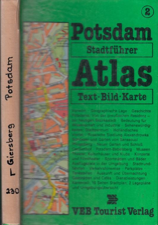 Potsdam Stadtführer Atlas Text- Bild- Karte