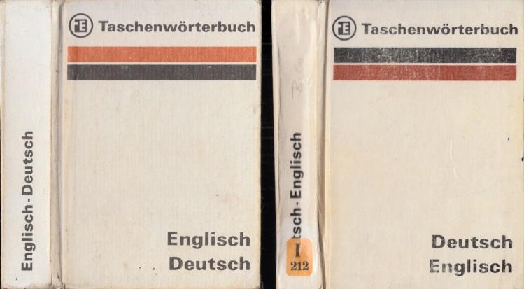 Taschenwörterbuch Deutsch-Englisch - Taschenwörterbuch Englisch-Deutsch 2 Bücher