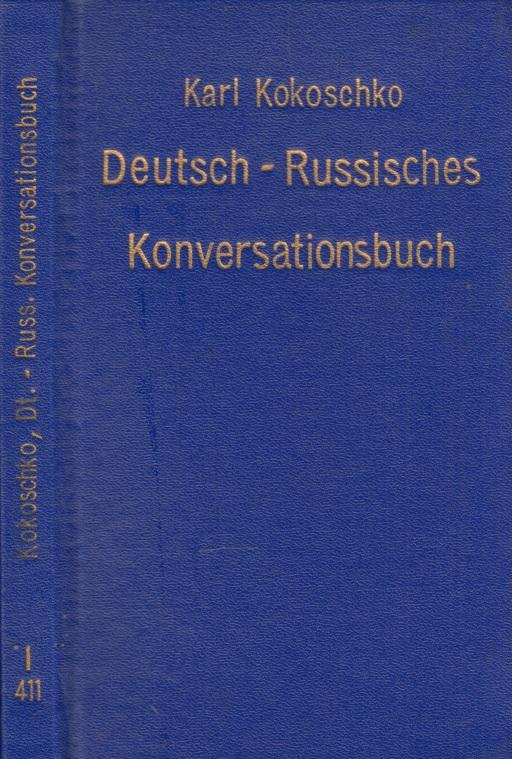 Deutsch-russisches Konversationsbuch