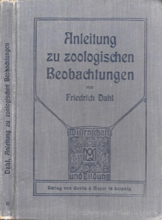 Anleitung zu zoologischen Beobachtungen