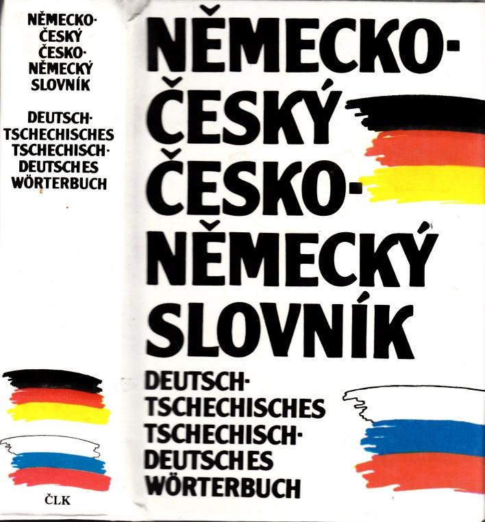 Deutsch-tschechisches, tschechisch-deutsches Wörterbuch
