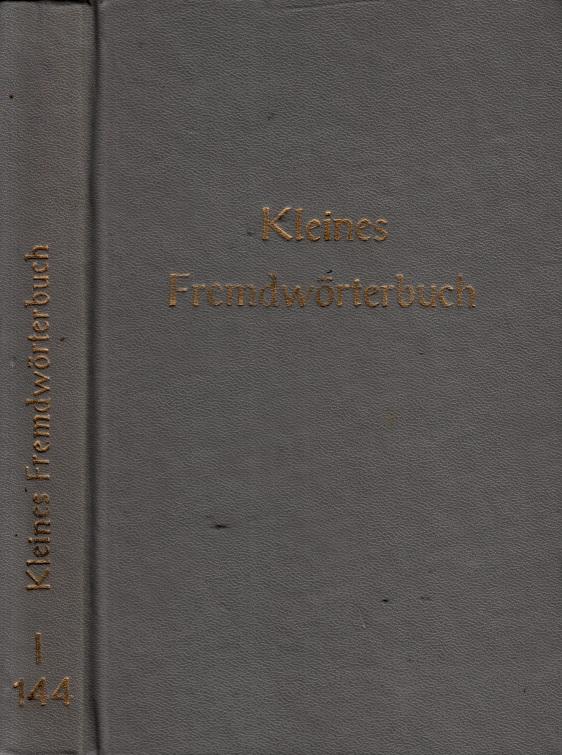 Kleines Fremdwörterbuch