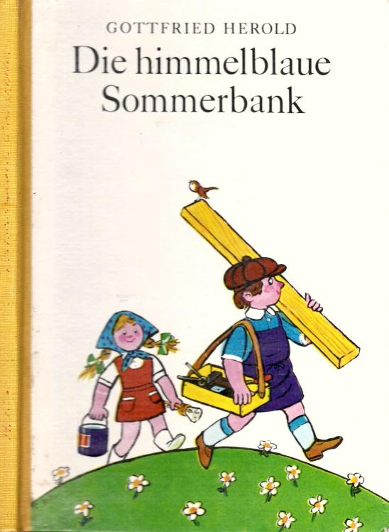 Die himmelblaue Sommerbank Illustrationen von Thomas Schleusing Gruppe 4