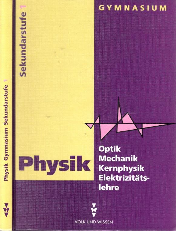 Physik Sekundarstufe I (Klassen 9 und 10) - Optik, Mechanik, Kernphysik, Elektrizitätslehre