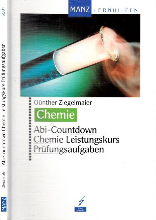 Abi-Countdown, Chemie Leistungskurs, Prüfungsaufgaben, Chemie