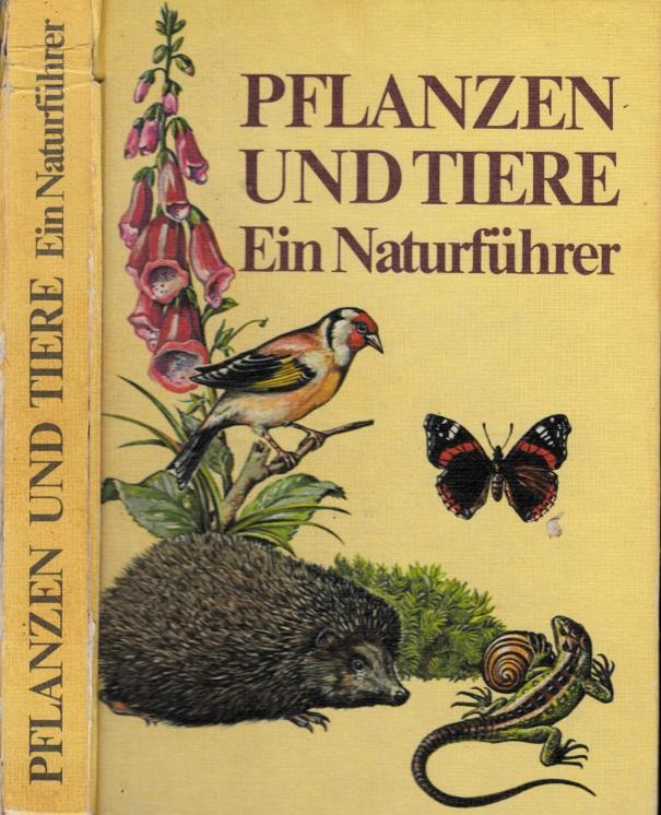 Pflanzen und Tiere - Ein Naturführer Mit 1500 farbigen Illustrationen aut 205 Tafeln