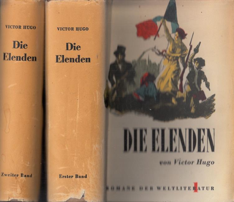 Die Elenden Erster Band und Zweiter Band 2 Bücher