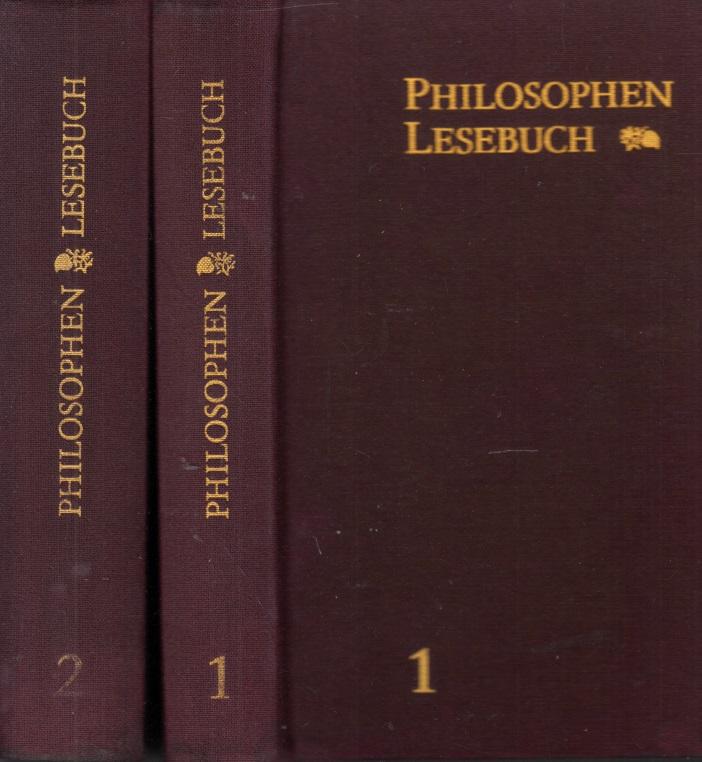 Philosophen Lesebuch Band 1 und Band 2 2 Bücher