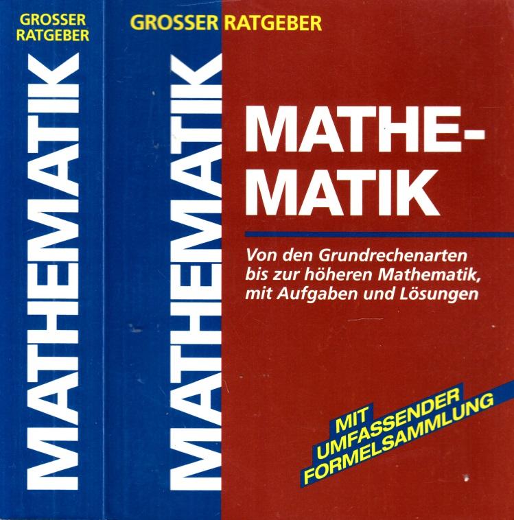 Grosser Ratgeber Mathematik