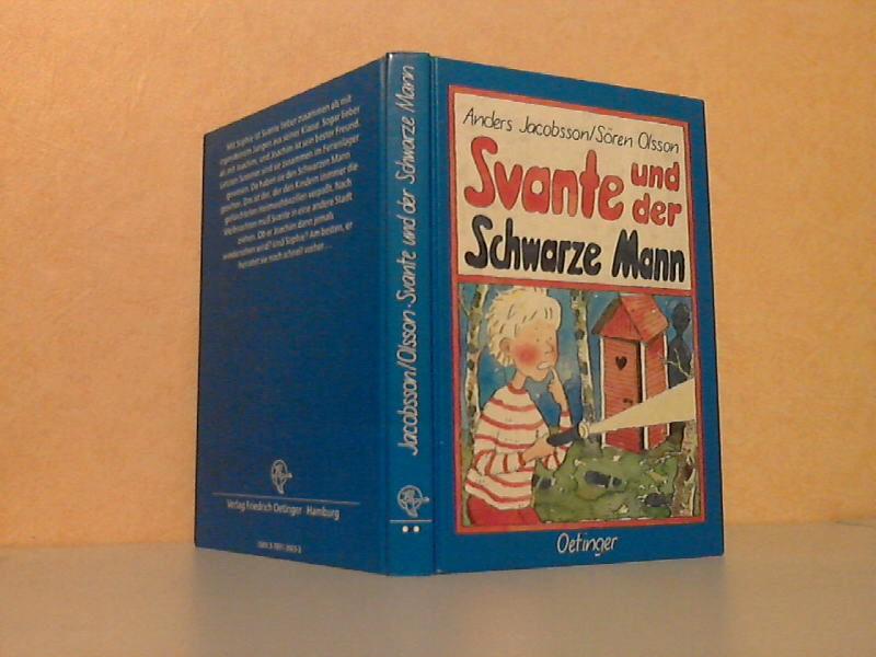 Svante und der Schwarze Mann Zeichnungen von Antje Burger - Deutsch von Anna-Liese Kornitzky