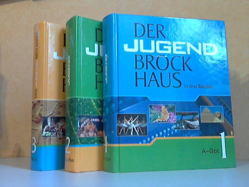 Der Jugend Brockhaus in drei Bänden 3 Bücher