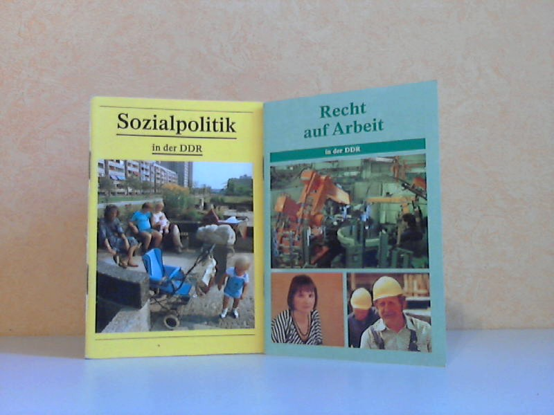 Recht auf Arbeit in der DDR + Sozialpolitik in der DDR 2 Heftchen