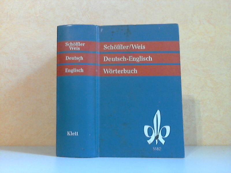 Wörterbuch der englischen und deutschen Sprache: Teil II Deutsch-Englisch