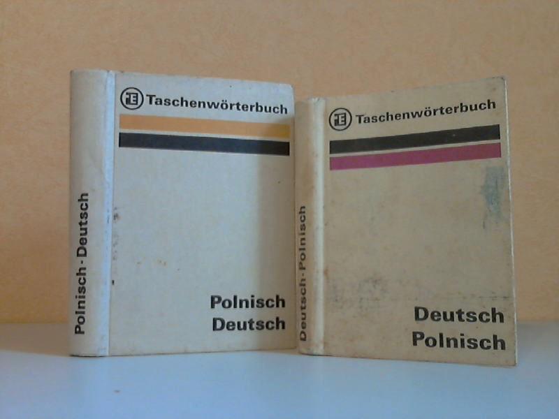 Taschenwörterbuch Deutsch-Polnisch + Taschenwörterbuch Polnisch-Deutsch 2 Bücher