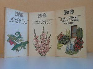 Erdbeeren im Garten - Vorgärten - Gladiolen im Garten 3 Bücher aus der Reihe Bücher für Gartenfreunde (BfG)