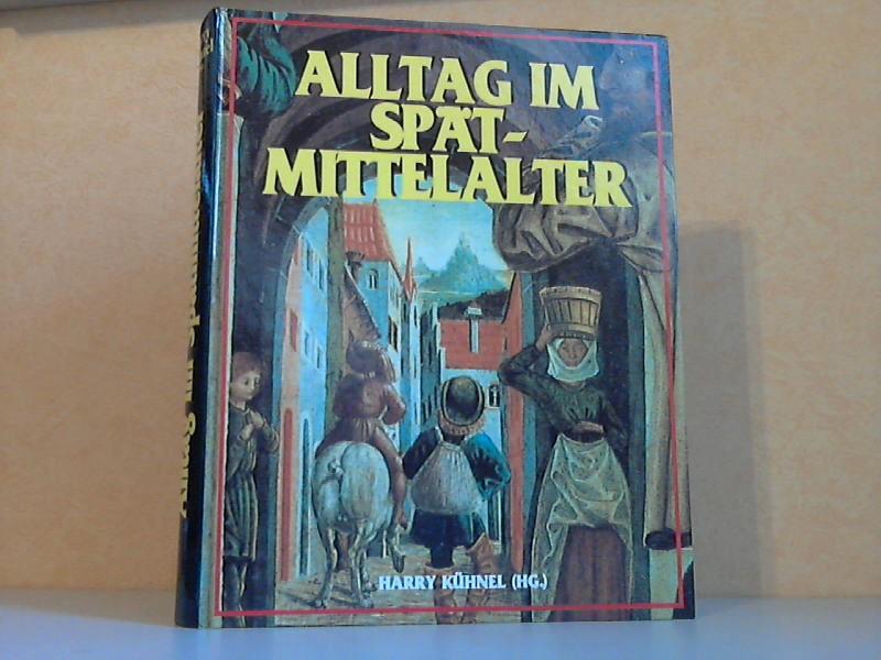 Alltag im Spätmittelalter Mit 430 Abbildungen, 48 in Farbe