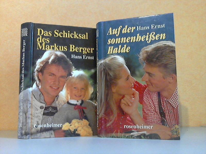 Das Schicksal des Markus Berger + Auf der sonnenheißen Halde 2 Bücher