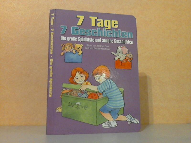 Die Große Spielkiste und andere Geschichten - 7 Tage, 7 Geschichten Miideder von Hildrun Covi