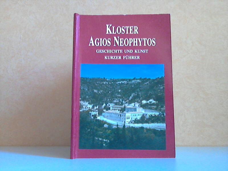 Das Kloster des Heiligen Neophytos - Geschichte und Kunst (Ein Kurzer Führer)