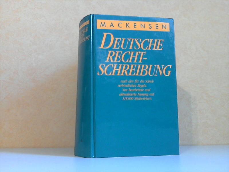 Deutsche Rechtschreibung nach den für die Schule verbindlichen Regeln