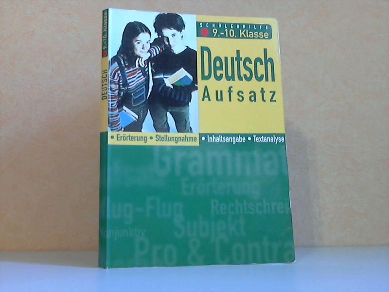 Deutsch Aufsatz 9 10 Klasse In Der Neuen Rechtschreibung Nr