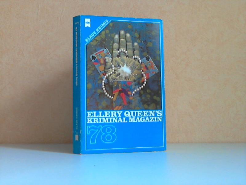 Ellery Queens Kriminal Magazin 78 Blaue Krimis - Heyne-Buch Nr. 1975