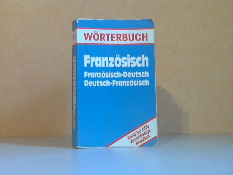 Wörterbuch Französisch - Französisch-Deutsch + Deutsch-Französisch